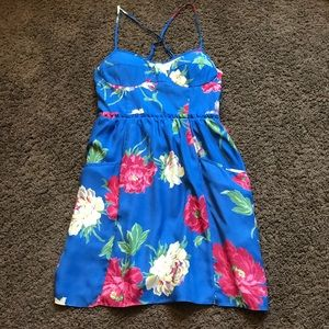 small american eagle floral dress